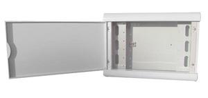 Coffret multimédia compact vide à garnir - Platine Réseaux